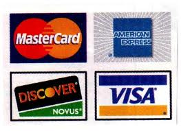 Credit Card, Check,or Cash Accepted